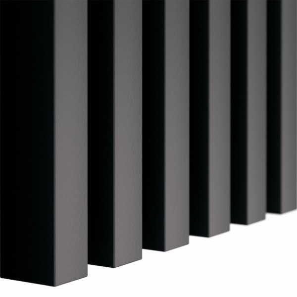 Czarne lamele dekoracyjne drewniane ścienne